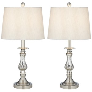 Mercure Glass Table Lamps, Two Pack | Pacific Coast Lighting