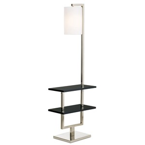 Avenue Double Shelf Downbridge Floor Lamp | Pacific Coast Lighting