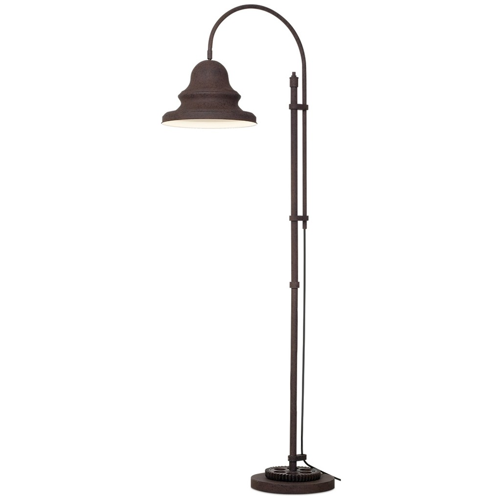 Industrial Gear Downbridge Floor Lamp | Pacific Coast Lighting