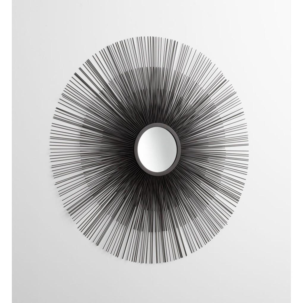 Double Solar Flare Mirror | Cyan Design