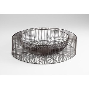 Large Wire Wheel Tray | Cyan Design