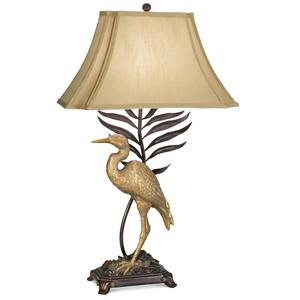 Whispering Palms Table Lamp