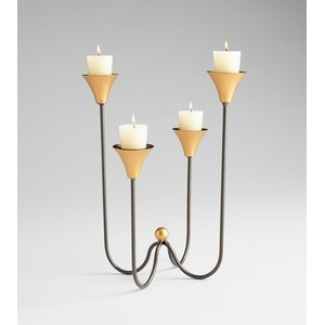Large Bell Tower Candleholder | Cyan Design