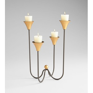 Large Bell Tower Candleholder