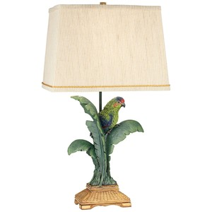 Tropical Parrot Table Lamp | Pacific Coast Lighting