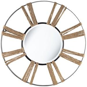 Rustic Sun Mirror