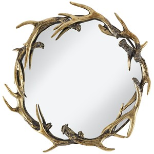 Caribou Small Mirror | Pacific Coast Lighting