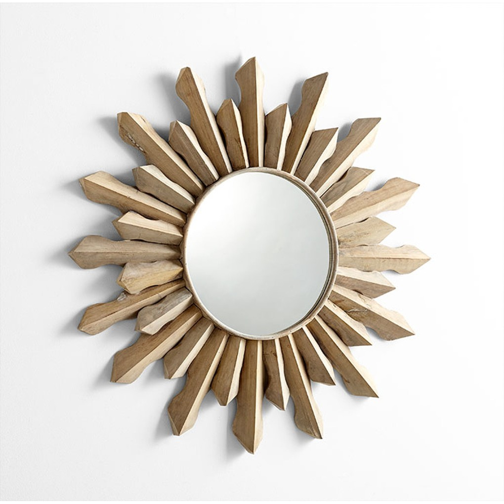 Sol Mirror | Cyan Design