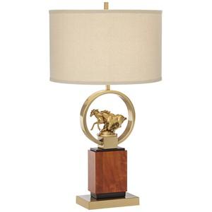 Running Horses Table Lamp | Pacific Coast Lighting