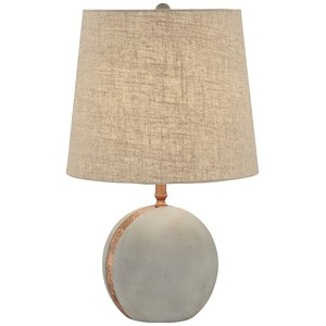 Cement Ball Table Lamp | Pacific Coast Lighting
