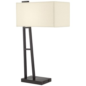 Metal Table Lamp with USB