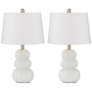 Coastal Ceramic Table Lamps (Set of Two)