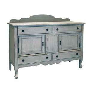 Silhouette Sideboard in Dove Gray | Magnolia Home