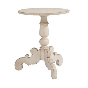 Tripod Hall Table in Anitque White | Magnolia Home