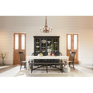 7' Dining Table with Turned Legs | Magnolia Home