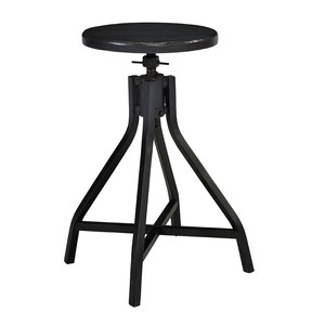Jo's Black Stool | Magnolia Home