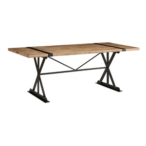 Truss and Strap Dining Table