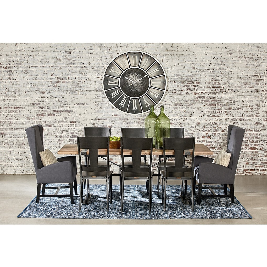 Truss & Strap Dining Table   Magnolia Home