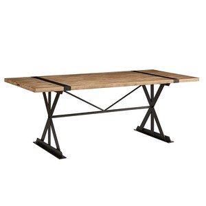 Truss & Strap Dining Table | Magnolia Home
