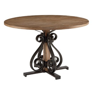 Scroll Dining Table