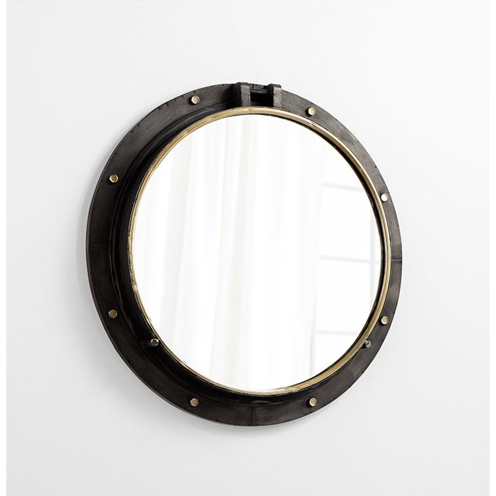 Barrel Mirror   Cyan Design