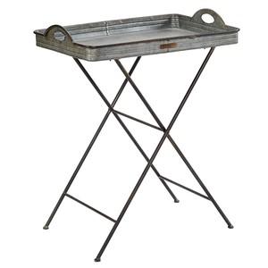 Metal Botanist Tray Table