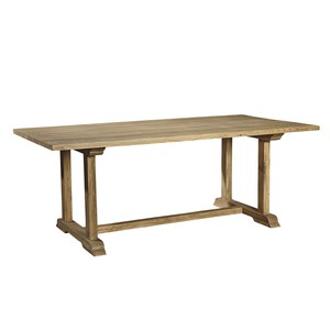 Old Elm Trestle Table