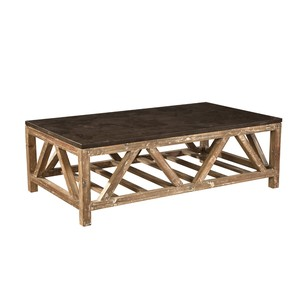 Old Fir and Bluestone Coffee Table | Furniture Classics