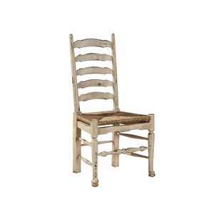 Painted English Country Ladderback Side Chair