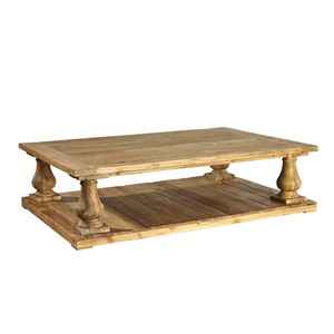 Old Pine Baluster Coffee Table | Furniture Classics