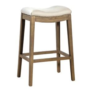 Linen Backless Barstool | Furniture Classics