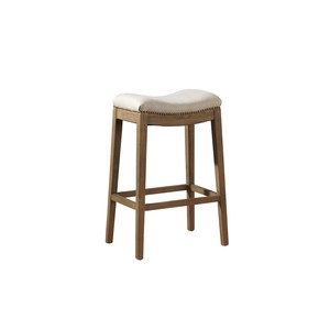 Linen Backless Counterstool | Furniture Classics