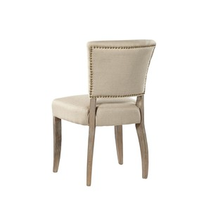Simple Linen Side Chair   Furniture Classics