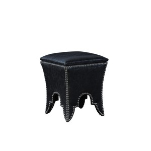 Black Empire Stool
