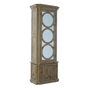Single Ashen Circles Cabinet
