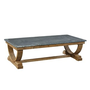 Zinc Top Coffee Table