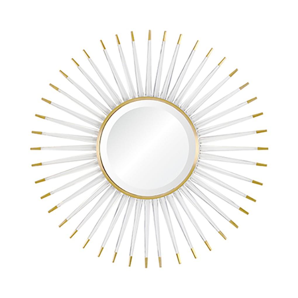 Acrylic Sunburst Mirror   Mirror Image Home