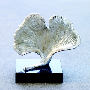 Ginkgo Leaf Objet in Silver | Global Views