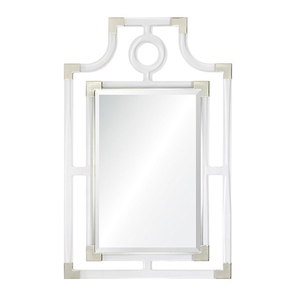 Acrylic Geometric Mirror   Mirror Image Home