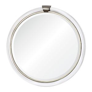 Round with Keystone Mirror   Mirror Image Home