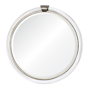 Round with Keystone Mirror | Mirror Image Home