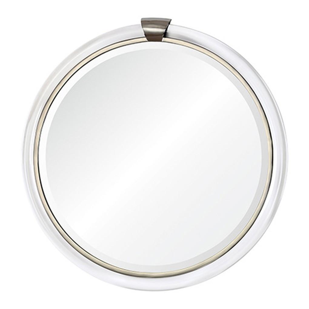 Round with Keystone Mirror | Mirror Image Home