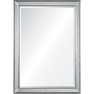Distressed Silver Leaf Mirror | Mirror Image Home