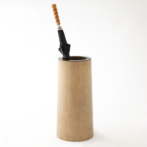 Umbrella Stand in Bleach Walnut