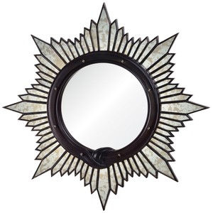 Antiqued Starburst Mirror