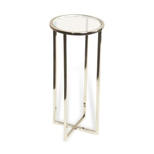 Zander Round Drink Table | Interlude Home