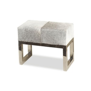 Moro Hide Stool | Interlude Home