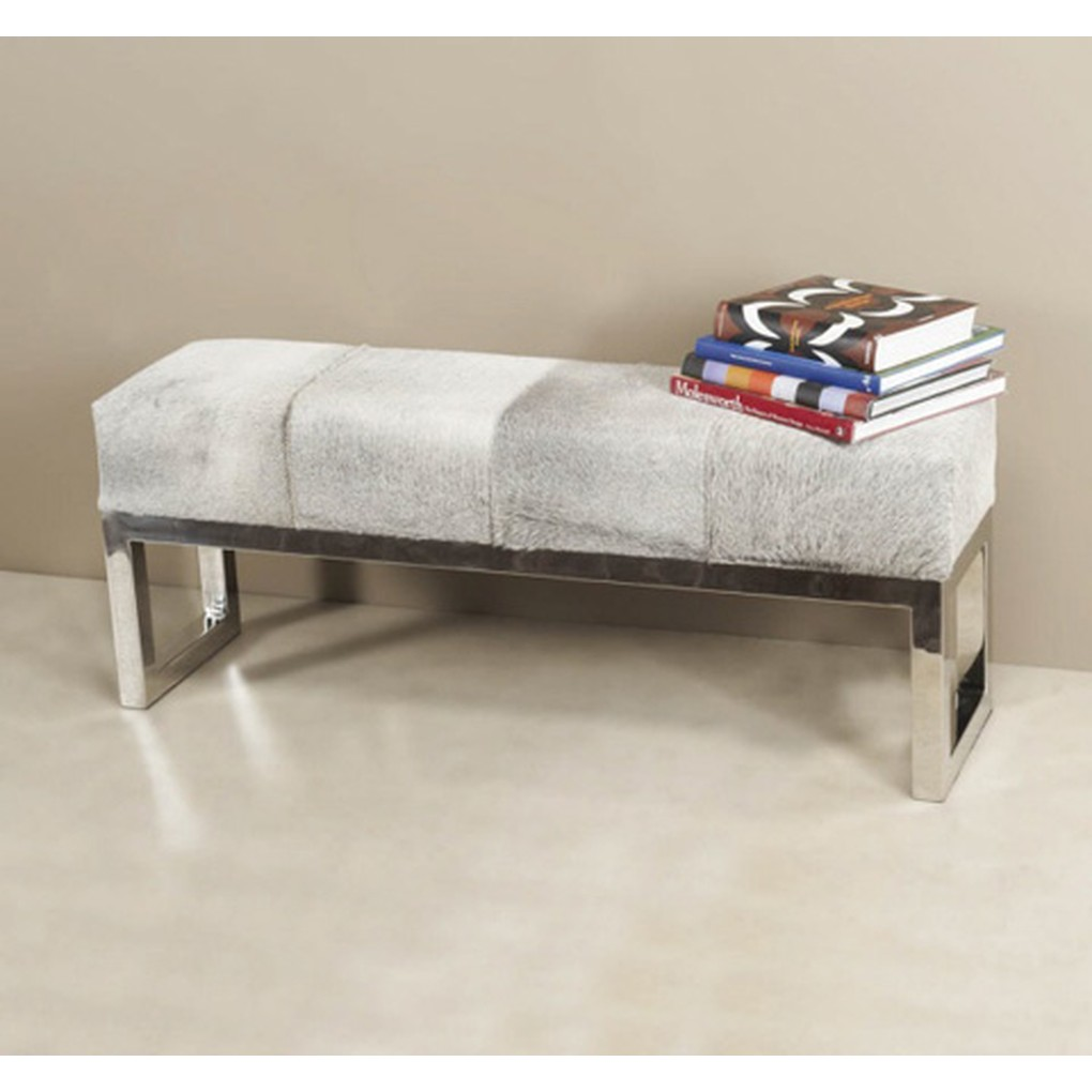 Moro Hide Bench | Interlude Home
