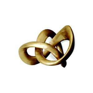 Trefoil Knot Sculpture   Interlude Home