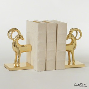 Gazelle Bookends | Global Views